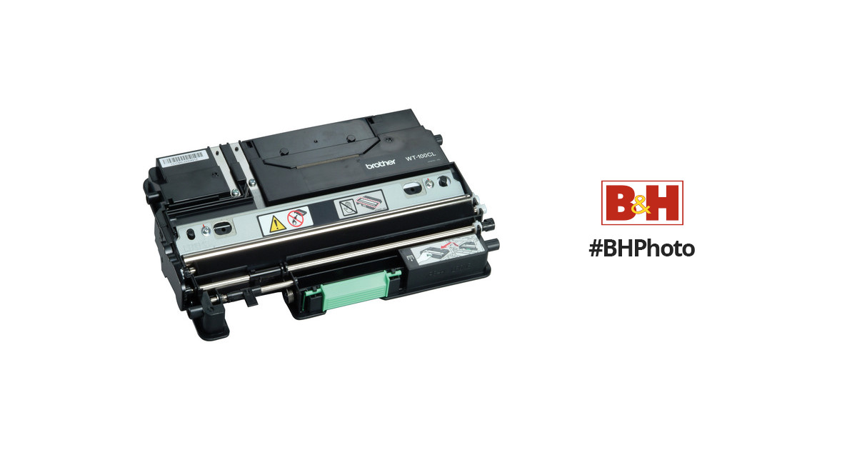 Brother Wt100cl Waste Toner Box Wt100cl B Amp H Photo Video