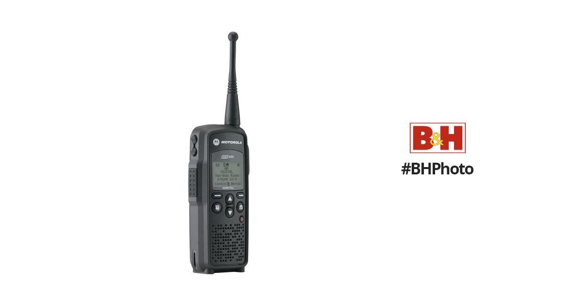 Motorola DTR550 Digital On Site Portable 2 Way Radio BH