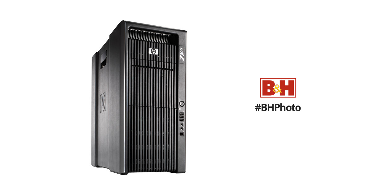 HP Z800 Workstation Computer (Avid Certified)