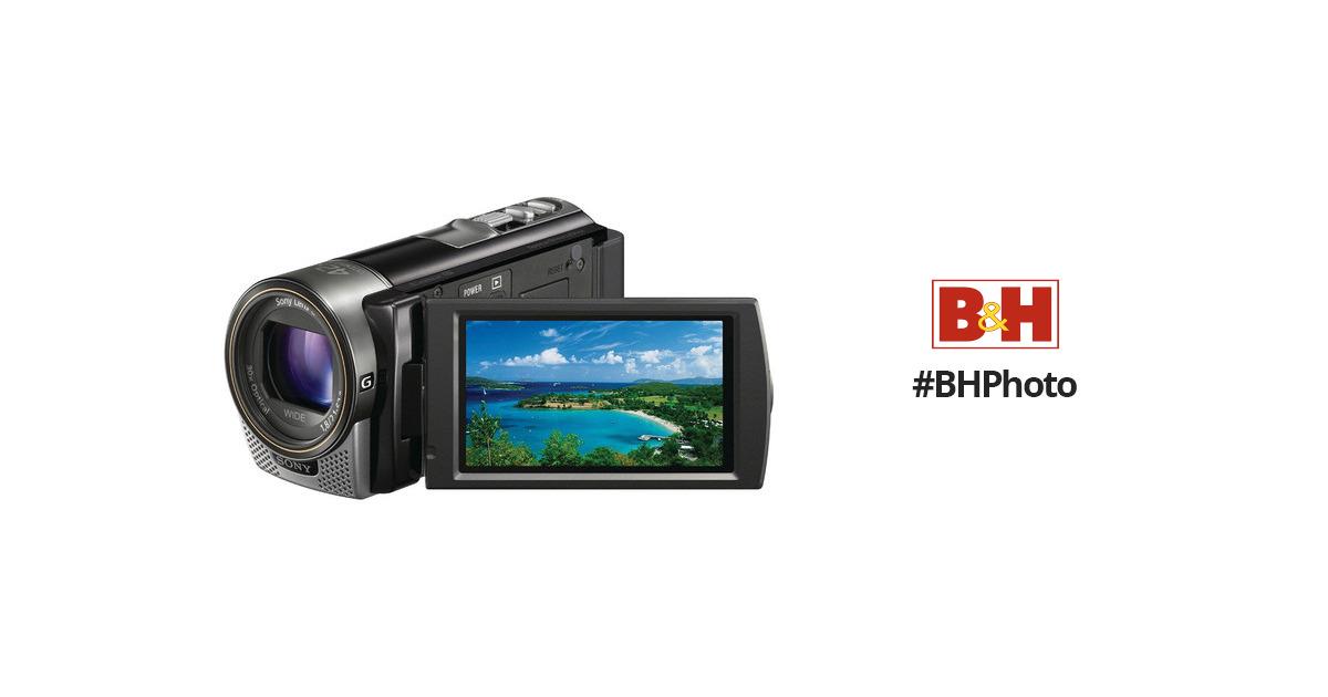 sony hdr cx160 hd flash memory camcorder black hdrcx160 b b h rh bhphotovideo com sony hdr cx160 instruction manual sony hdr-cx160 manual
