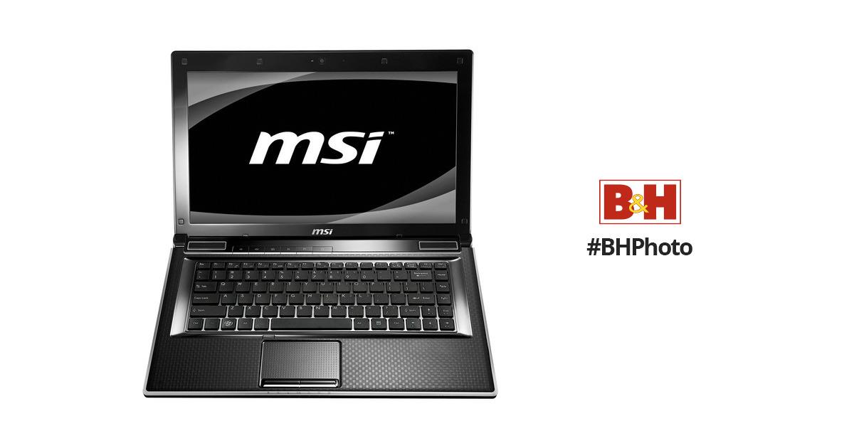 MSI FX400 Notebook Intel Turbo Boost Windows 7