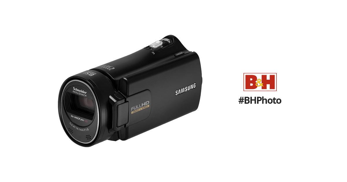 samsung hmx h300 full hd camcorder black hmx h300bn xaa b h rh bhphotovideo com Samsung HMX- F80 Camcorder Samsung Digital Camcorder