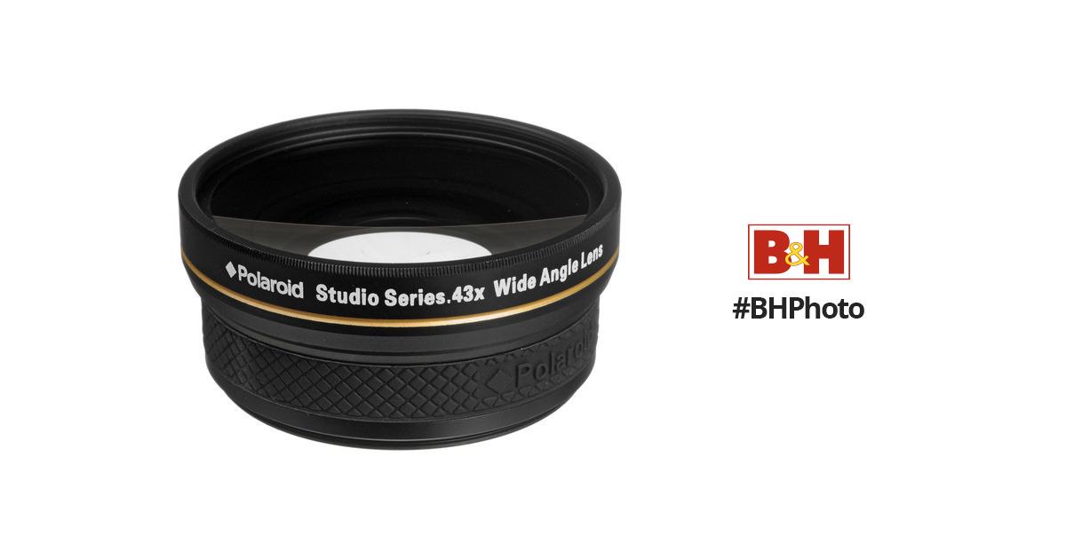 a5a1e1dbdb2a Polaroid Studio Series 58mm 0.43x HD Wide Angle Lens PL4358W B&H