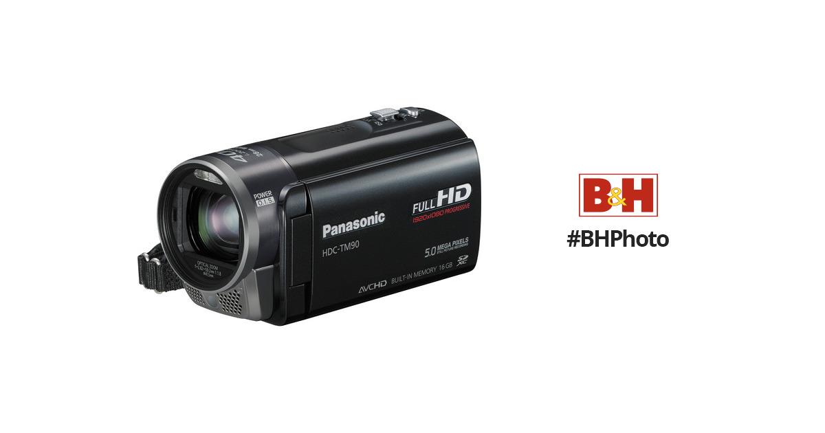 panasonic hdc tm90 high definition camcorder hdc tm90k b h photo rh bhphotovideo com Manual Panasonic Radio Panasonic.comsupportbycncompass
