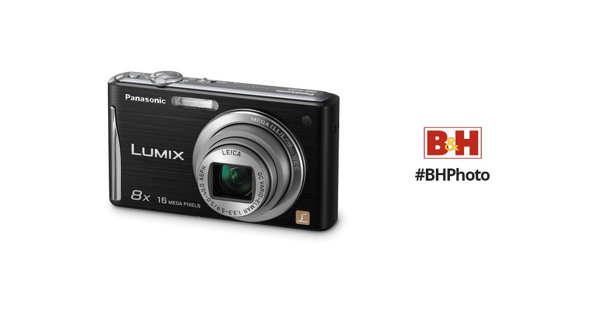 panasonic lumix dmc fh25 digital camera black dmc fh25k b h rh bhphotovideo com 24X Panasonic Lumix DMC panasonic lumix dmc-fh25 owners manual