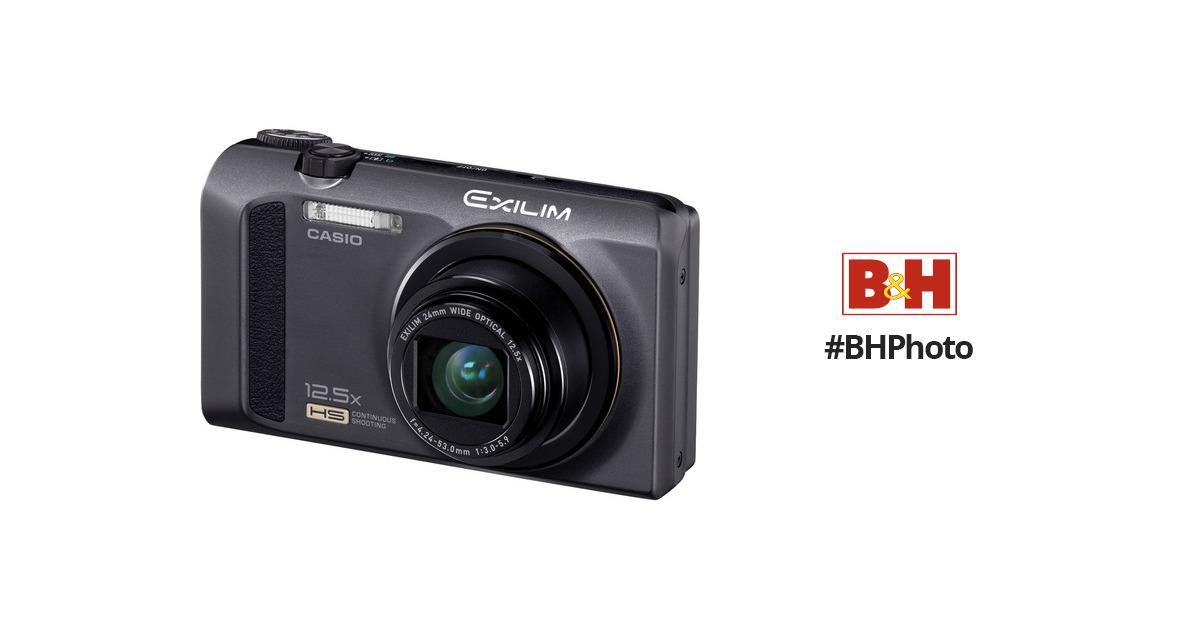 casio ex zr100 exilim digital camera black ex zr100b b h photo rh bhphotovideo com Casio Exilim Waterproof Case Casio Digital Camera Manual