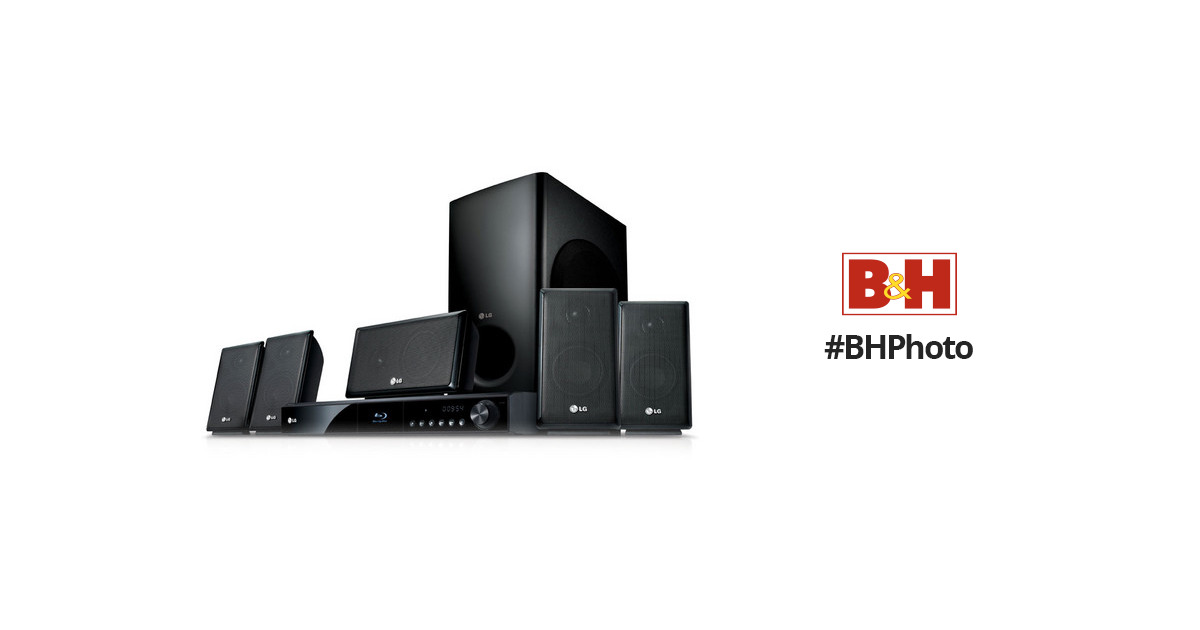 Astonishing Lg 5 1 Channel Blu Ray Disc Home Theater System Lhb335 Bh Photo Interior Design Ideas Gentotthenellocom