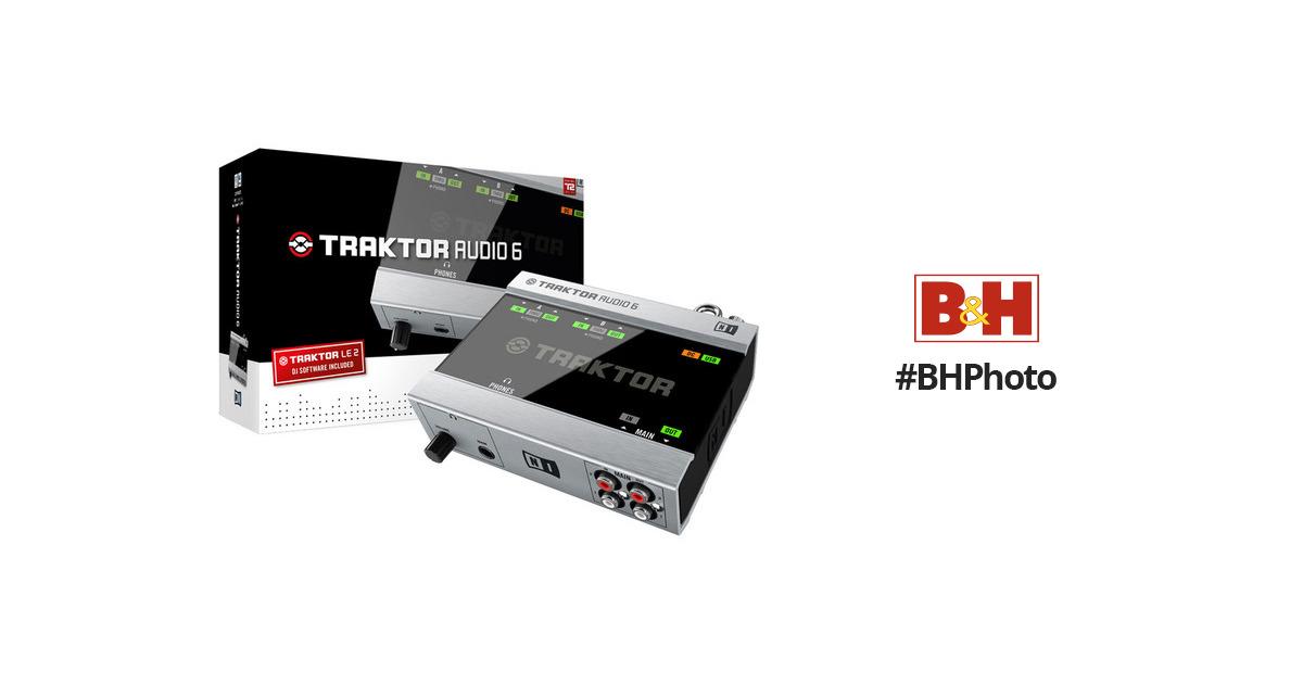 Native Instruments TRAKTOR AUDIO 6 - USB Audio Interface 21067