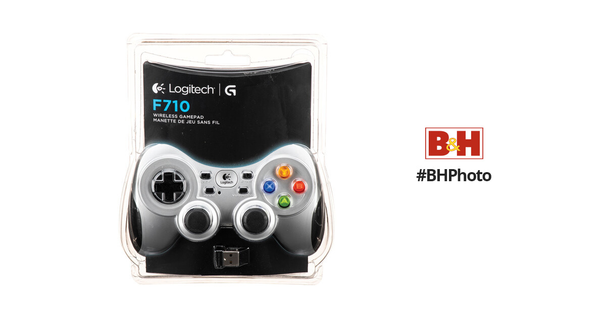 logitech wireless gamepad f710 driver win 10