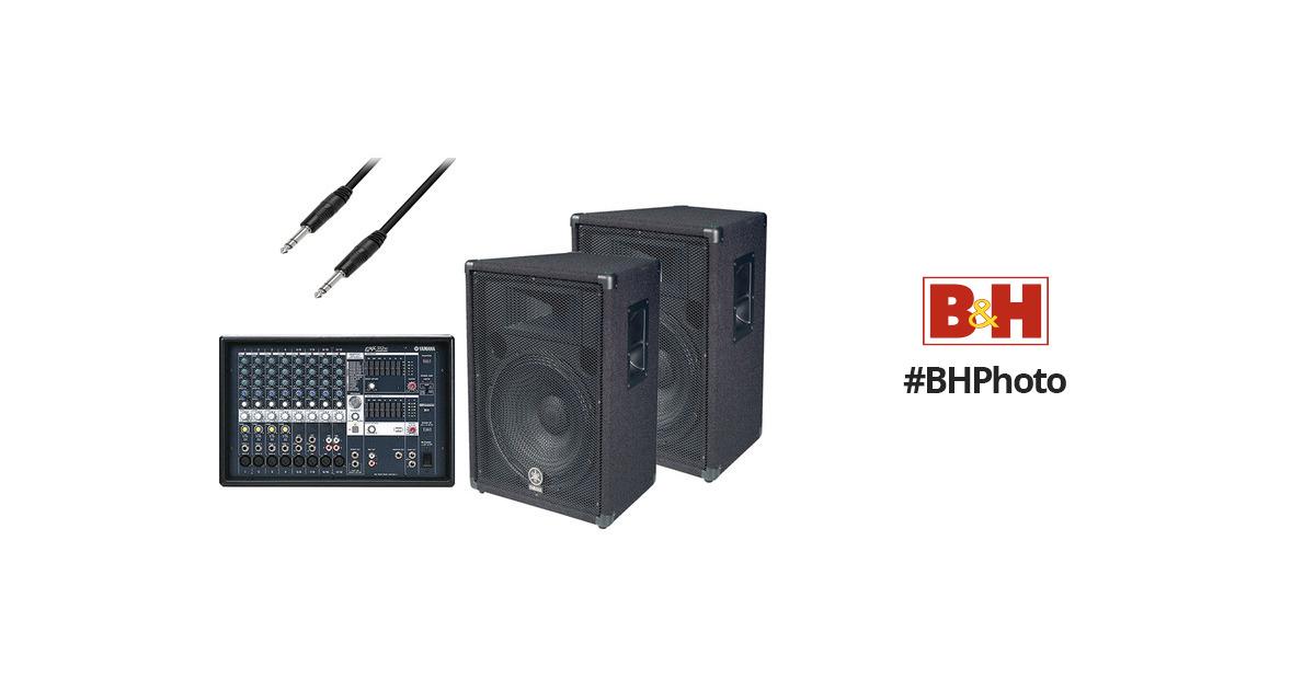 Yamaha Emx Powered Mixer Bundle