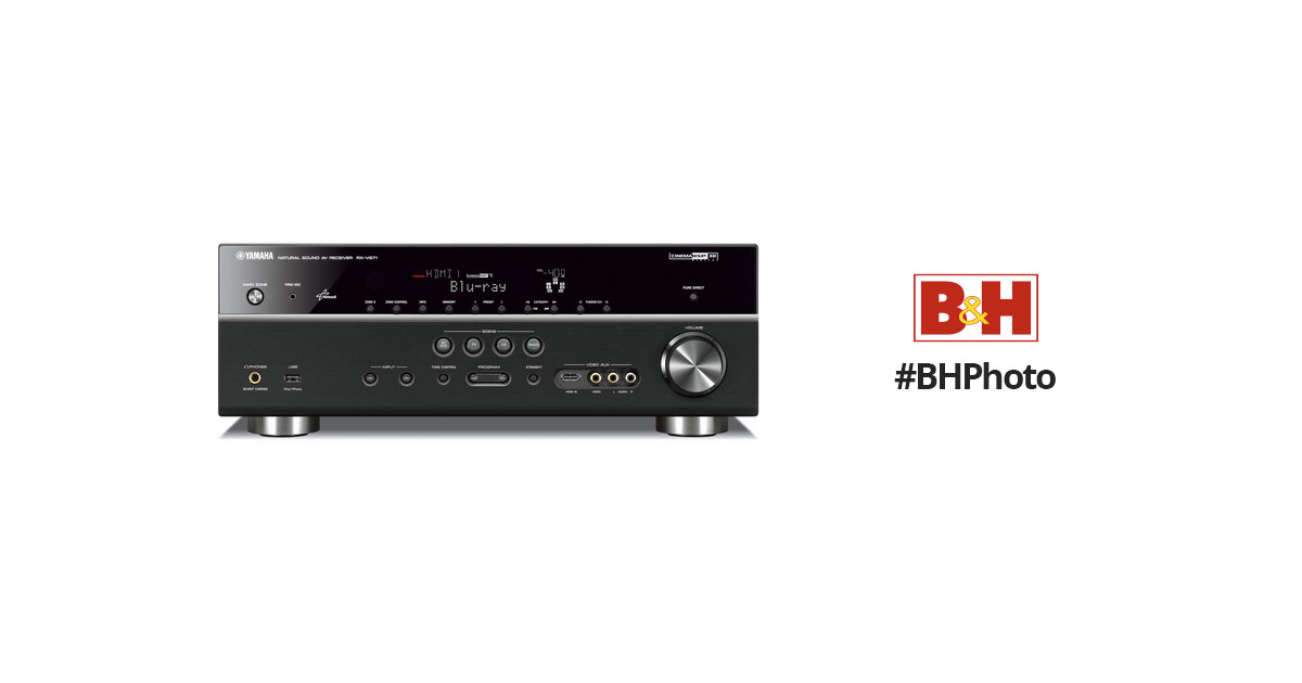 Yamaha Rx V671 71 Channel Home Theater Receiver Black