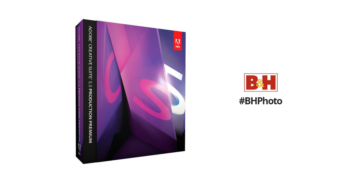 Adobe Creative Suite 5.5 Production Premium Buy Online