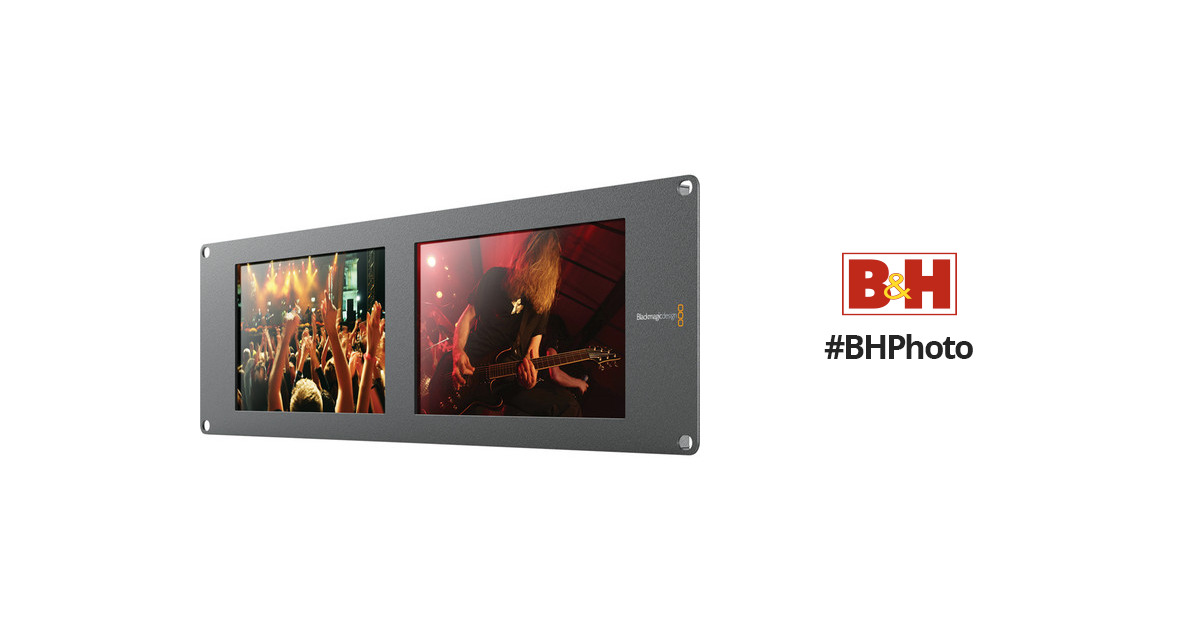 Blackmagic Design Smartview Duo Rackmountable Dual Hdl Smtvduo2