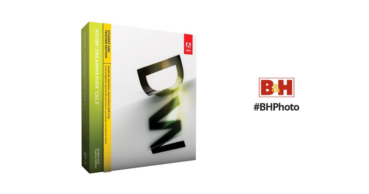 Buy Adobe Dreamweaver CS5.5 Student And Teacher Edition Cheap