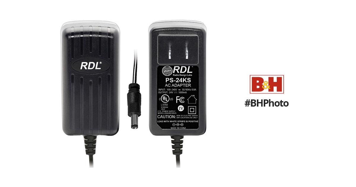 RDL PS-24KS 24VDC Switching Power Supply