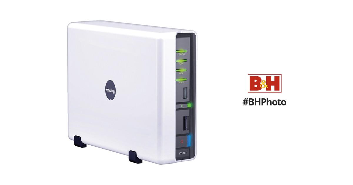 Synology DS111 DiskStation 1-Bay NAS Server