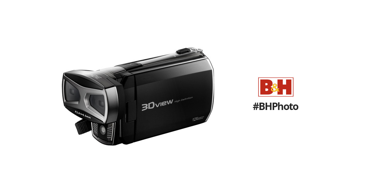 Dxg Pro Gear Series 5f0vr Hd Camcorder Red Bh