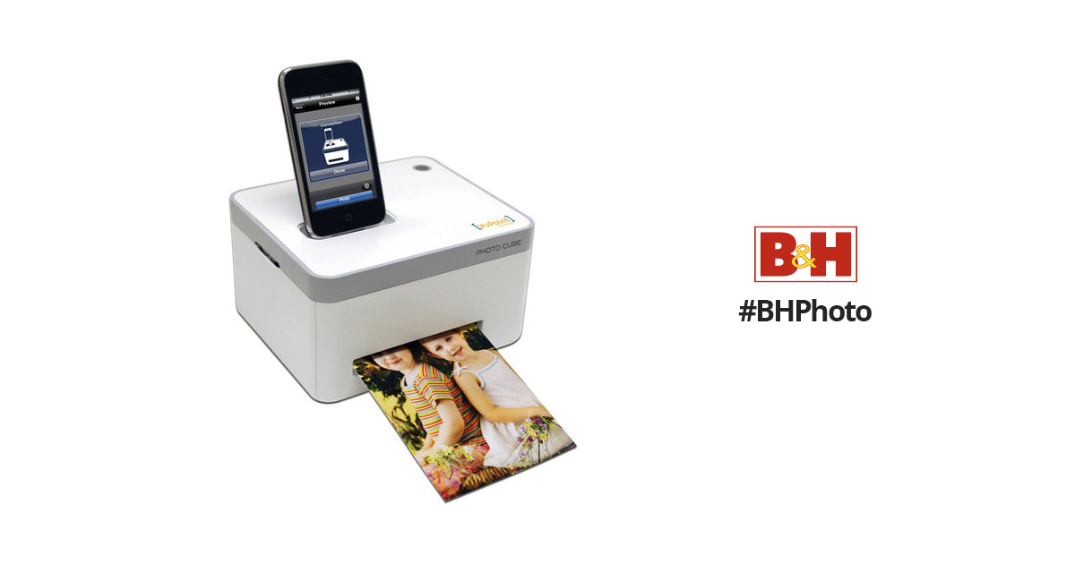 Vupoint Solutions Photo Cube Compact Photo Printer Ip P10 Vp Bh