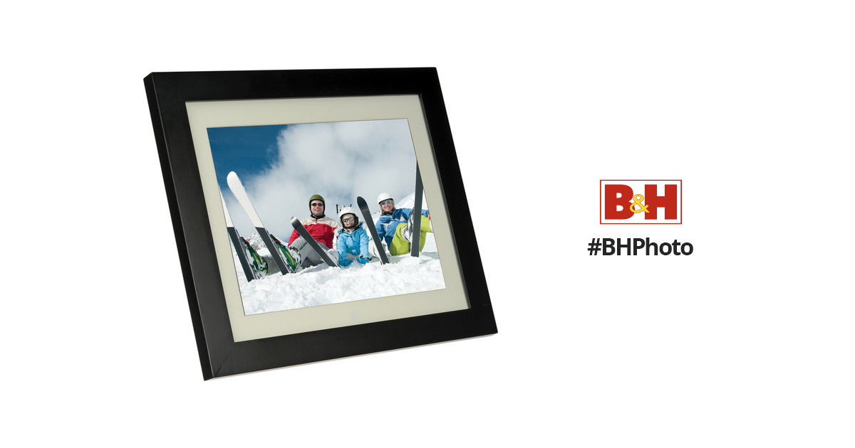 Pandigital 15 Led Backlit Digital Photo Frame Pan1502 Bh