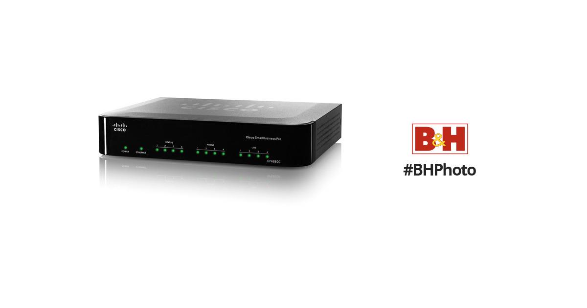Cisco SPA8800 IP Telephony Gateway with 4 FXS & 4 FXO Ports