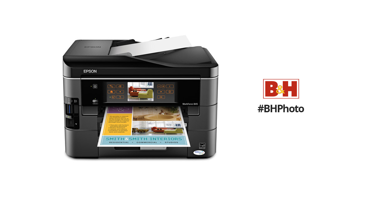NEW DRIVERS: EPSON WORKFORCE 845 SCANNER