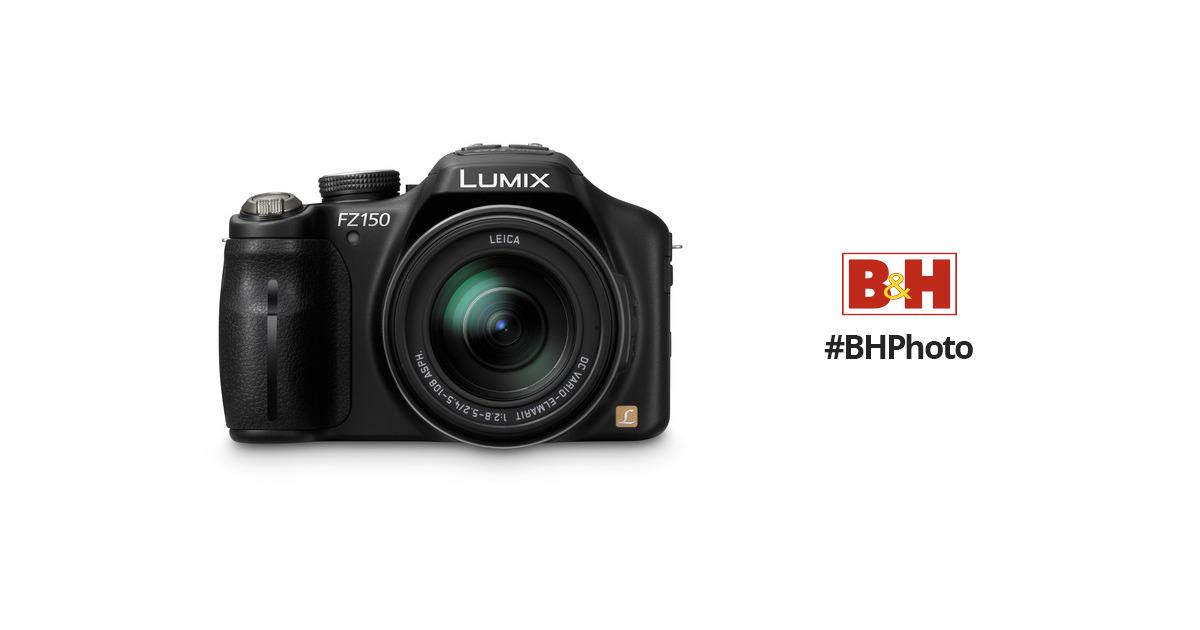 panasonic dmc fz150 digital camera black dmc fz150k b h photo rh bhphotovideo com panasonic lumix fz150 instruction manual