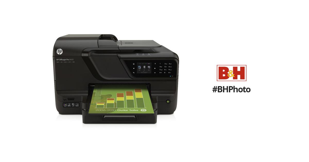 HP Officejet Pro 8600 Wireless Color e-All-in-One Inkjet Printer