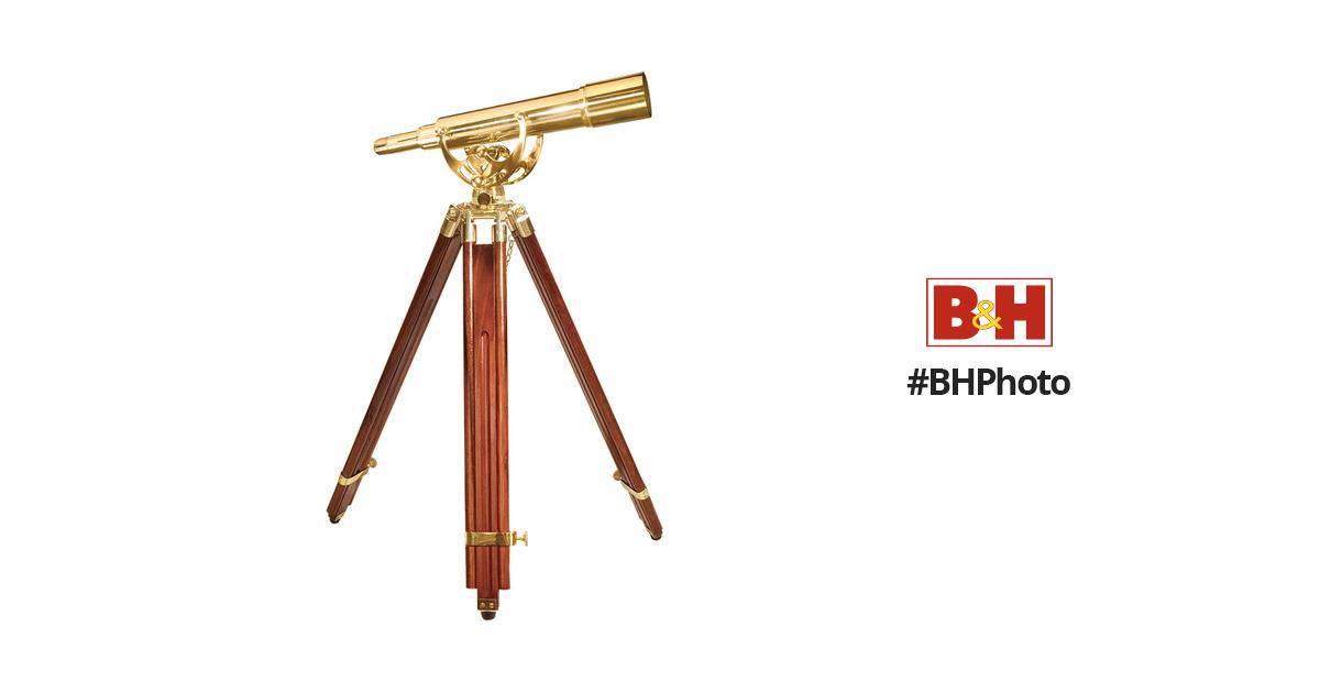 Barska 20-60x60 Anchormaster Spyscope Telescope with Mahogany Floor Tripod AA11128