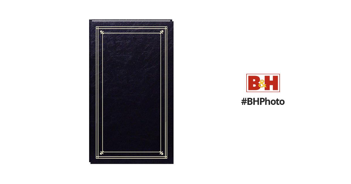 Pioneer Photo Albums Slim Line Post Style Pocket Album Jpf46bk