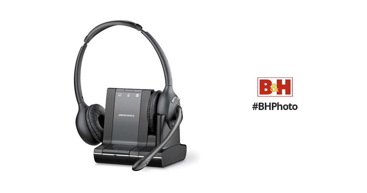 plantronics savi w720 multi device wireless headset 83544 01 b h rh bhphotovideo com savi w720 user manual savi w720-m manual