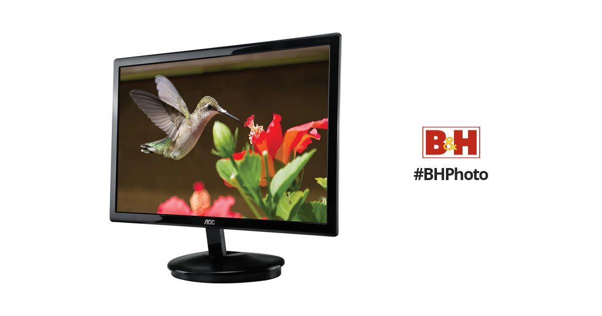 aoc e2343fk 23 led monitor black e2343fk b h photo video rh bhphotovideo com Instruction Manual User Manual PDF