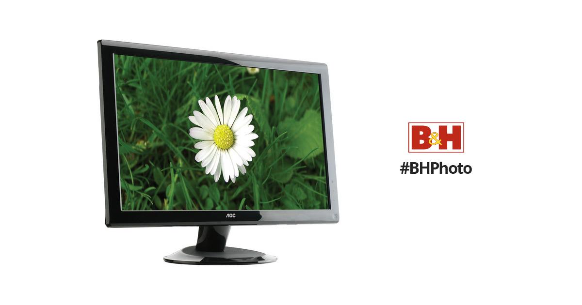 aoc 2436vwh 24 lcd hd widescreen monitor 2436vwh b h photo rh bhphotovideo com