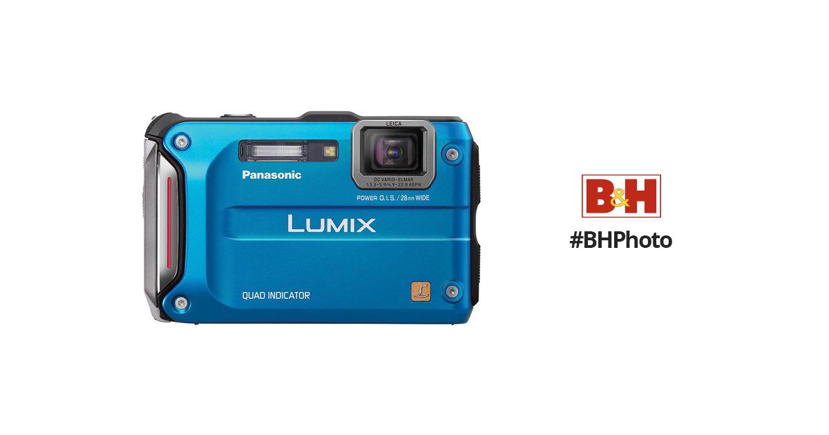 panasonic lumix dmc ts4 digital camera blue dmc ts4a b h photo rh bhphotovideo com
