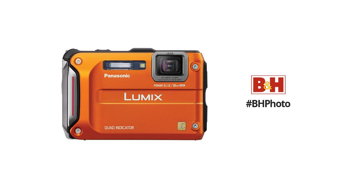 panasonic lumix dmc ts4 digital camera orange dmc ts4d b h rh bhphotovideo com panasonic lumix dmc-ts4 manual Panasonic Lumix Dmc-Fz1000