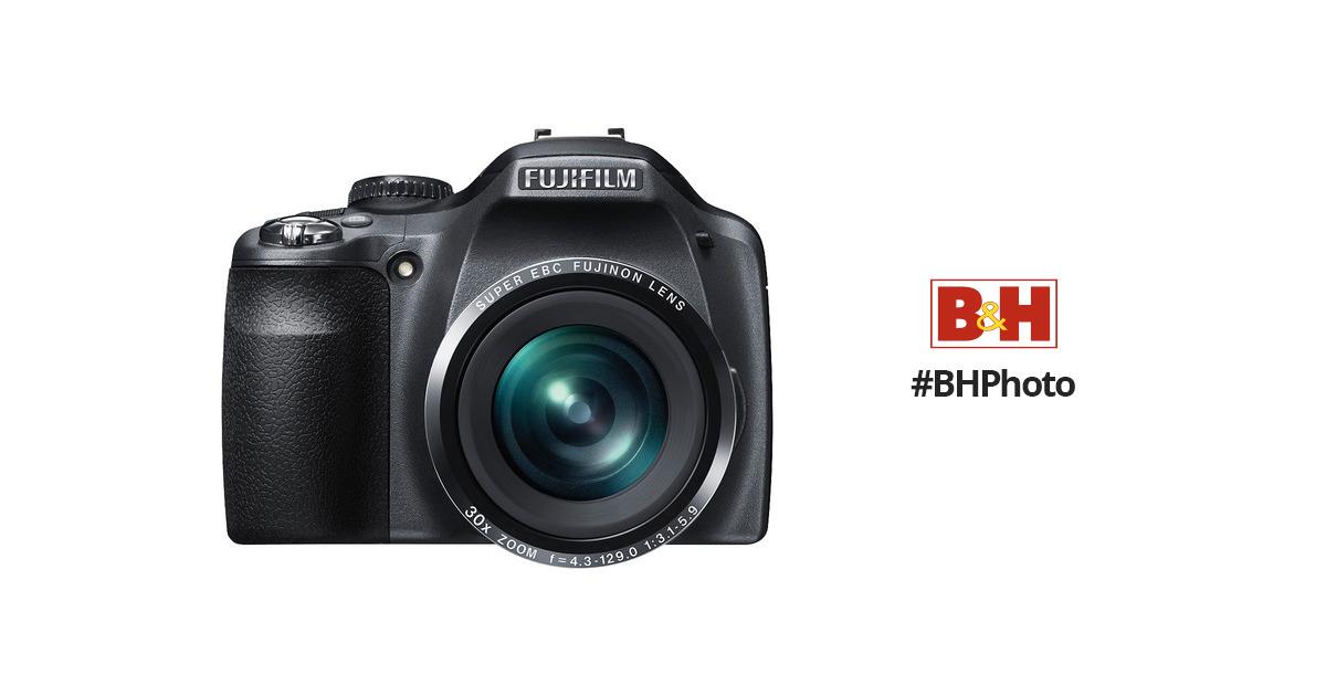 fujifilm finepix sl300 digital camera black 16206450 b h photo rh bhphotovideo com SL300 Review Fuji SL300