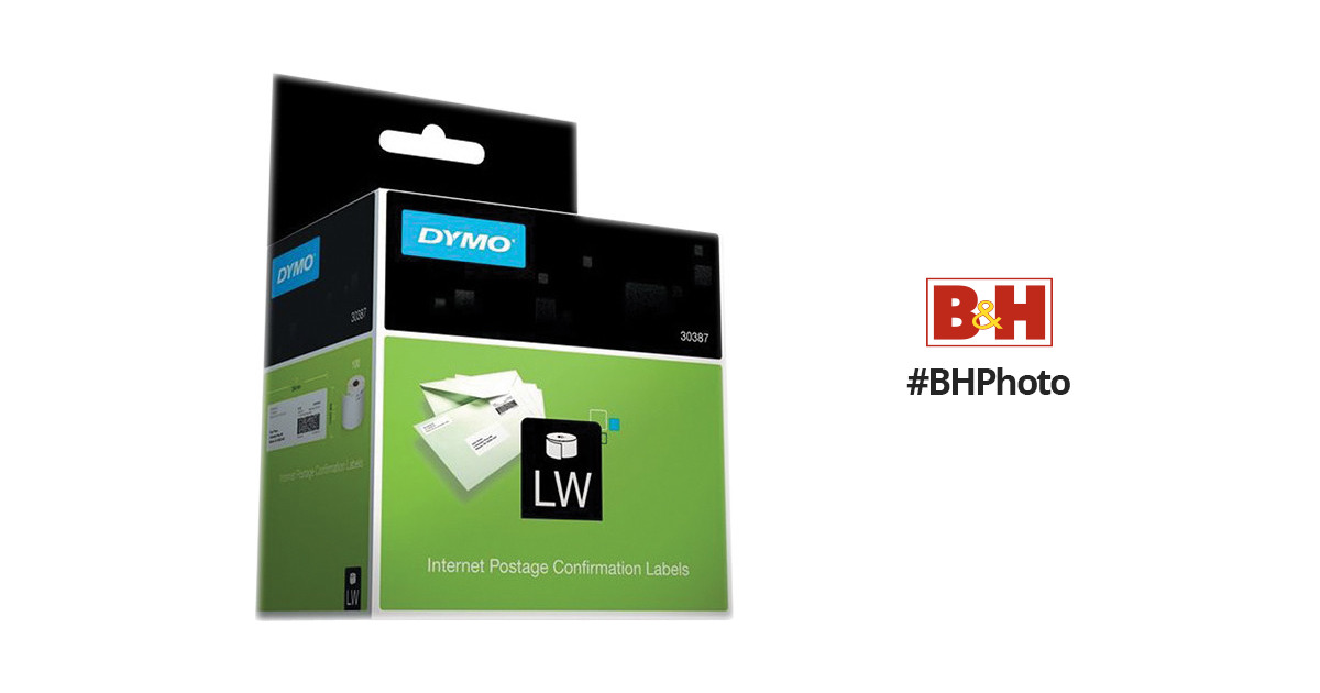 image about Dymo Printable Postage titled Dymo LabelWriter Web Postage Affirmation Labels (2.3 x 10\