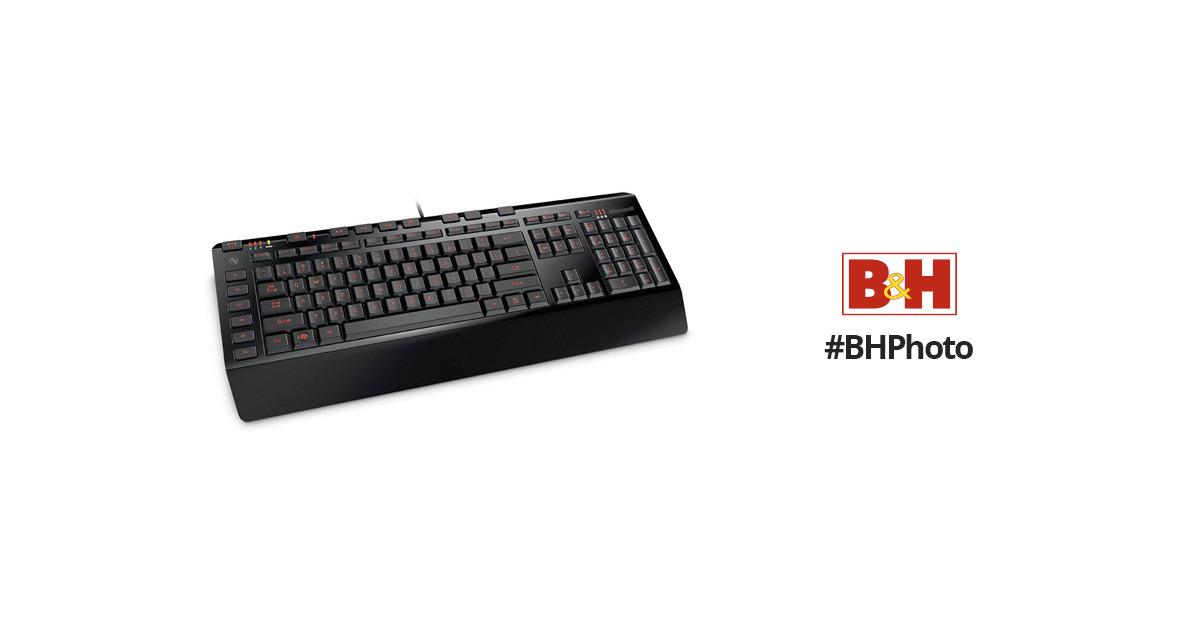 f1603d4e6f2 Microsoft SideWinder X4 Keyboard JQD-00001 B&H Photo Video