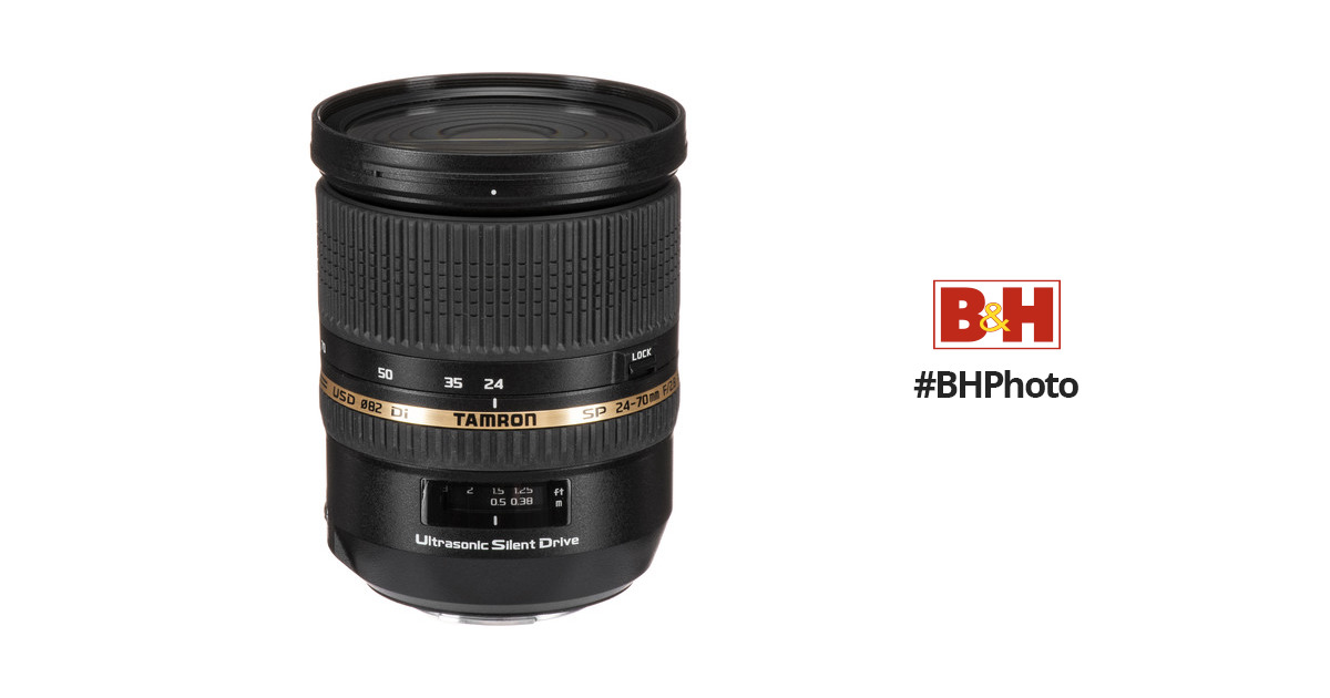 Tamron SP 24-70mm f/2.8 Di USD Lens for Sony Cameras AFA007S-700