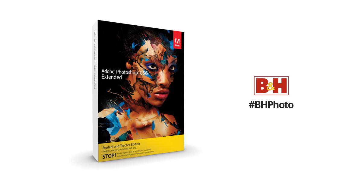 Adobe Photoshop Extended CS6 for Mac (Student & Teacher Edition)