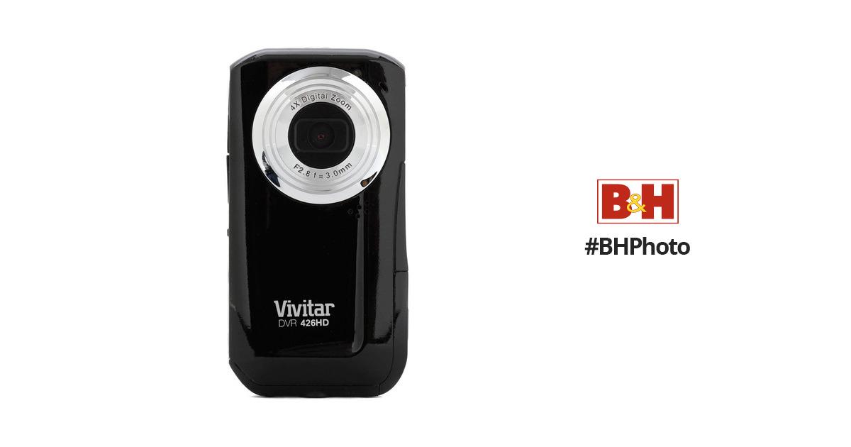 vivitar dvr 426hd digital video recorder black dvr426hd blk rh bhphotovideo com Vivitar 5.1Mp Digital Camcorder Vivitar DVR SD Card In