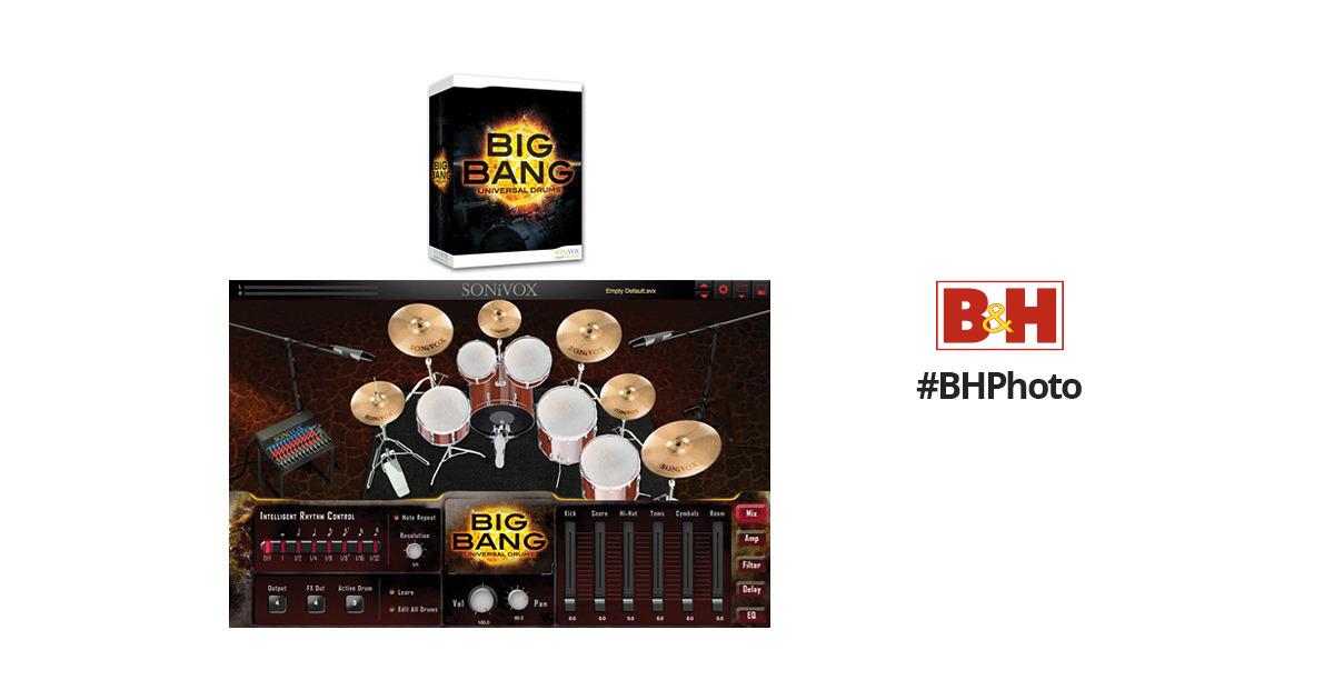 sonivox big bang cinematic percussion and big bang universal drums