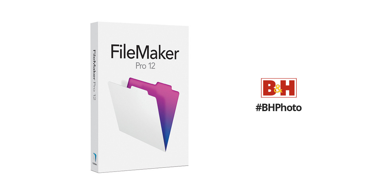 FileMaker Filemaker Pro 12 Non-Profit and Educational Version (English)