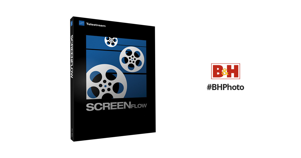 Telestream ScreenFlow 3 Software for Mac SKU82516688410 B&H
