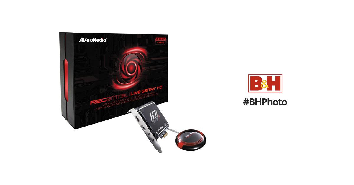 AVerMedia RECentral Live Gamer HD PCIe Capture Hardware Encoder