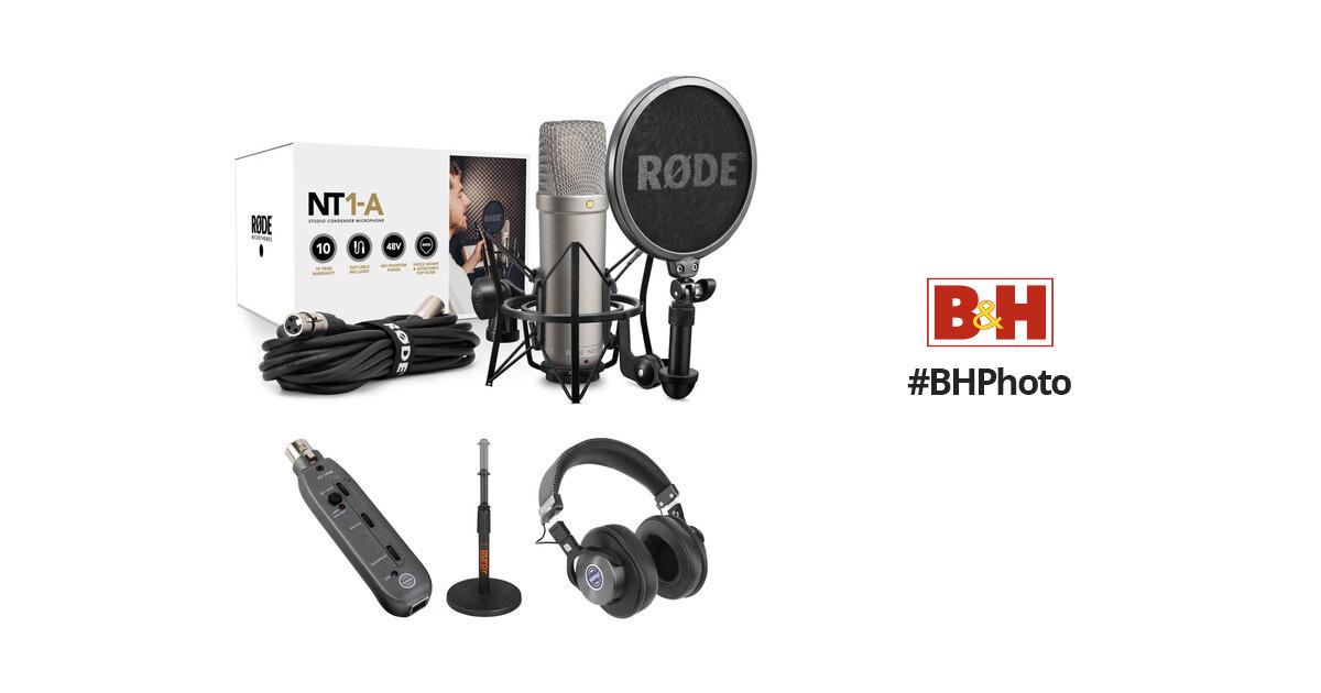 rode nt1 a microphone usb preamp bundle b h photo video. Black Bedroom Furniture Sets. Home Design Ideas