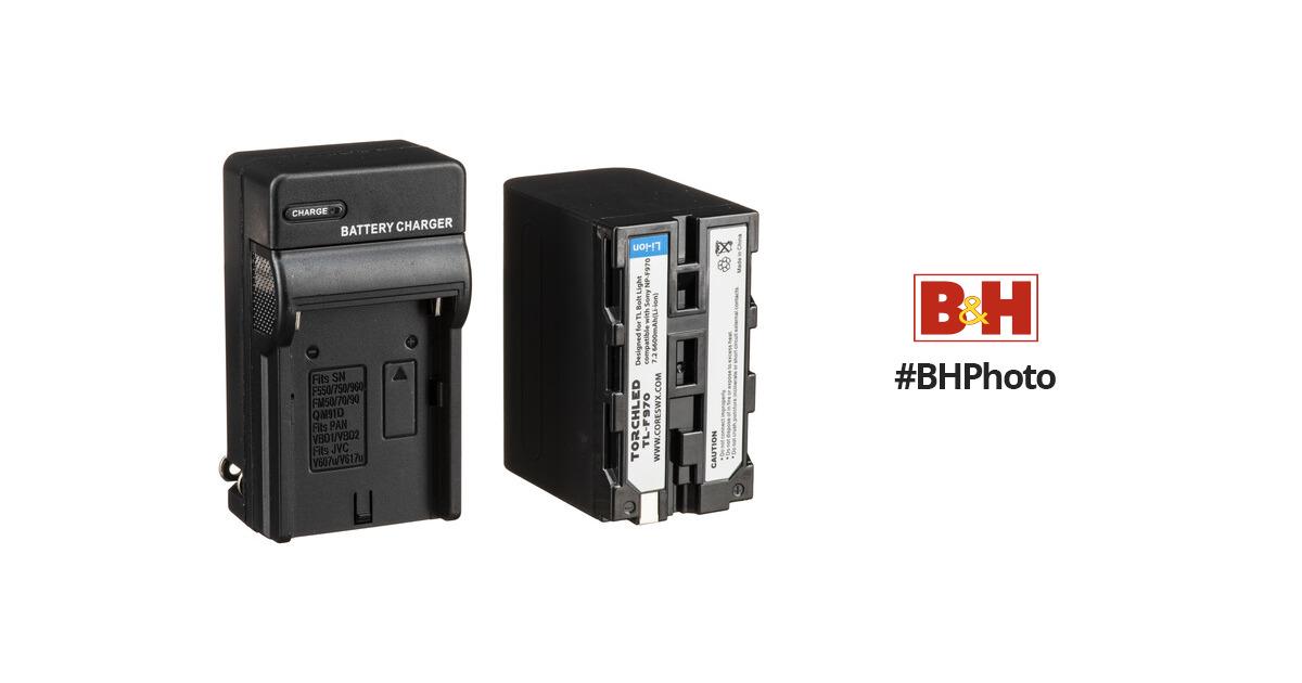 Core SWX NPF-970, 6600mah L-Series Battery Kit