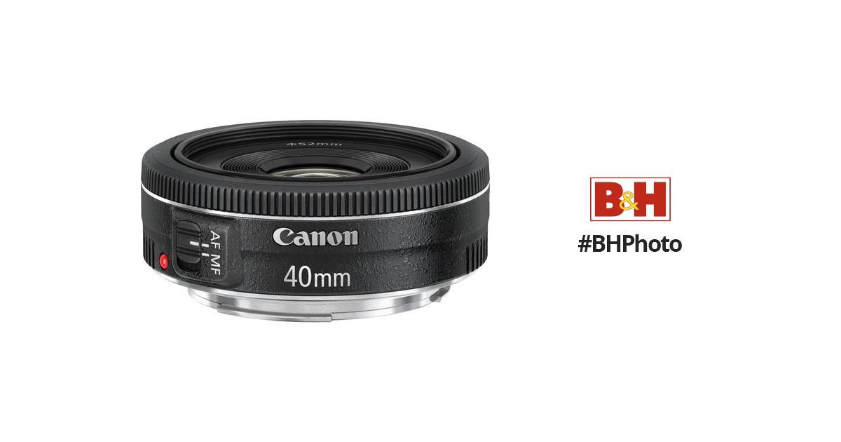 Canon EF 40mm f/2.8 STM Lens 6310B002 B&H Photo Video