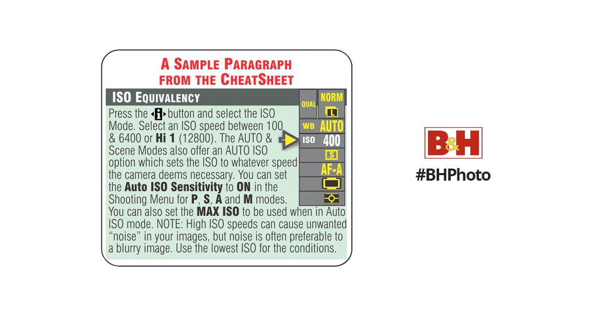 nikon d3200 cheat sheet pdf