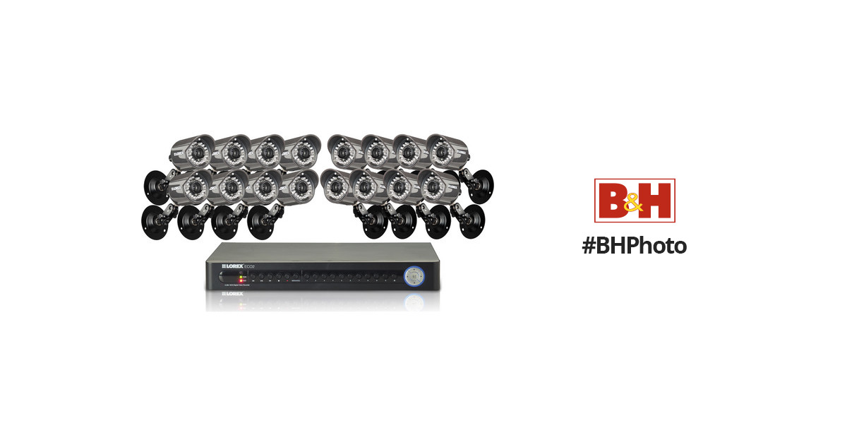 lorex eco2 16 channel security system manual
