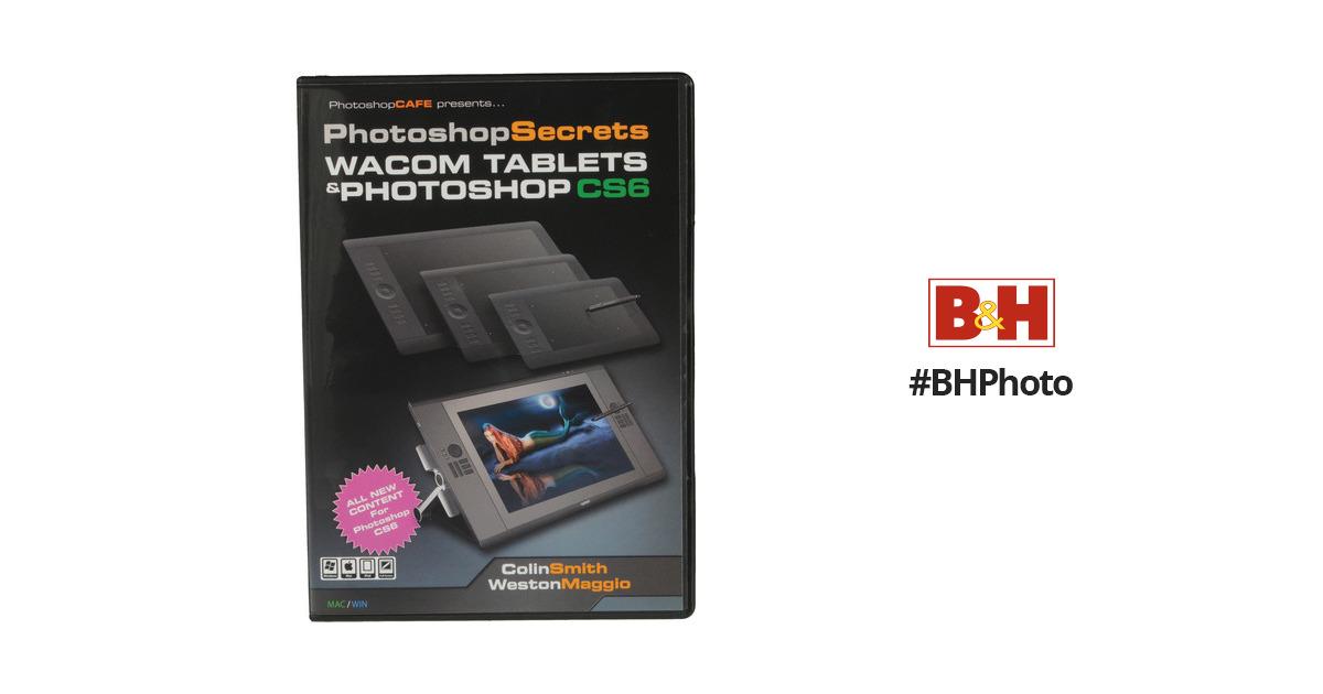 Photoshopcafe Dvd Photoshop Secrets Wacom Tablets And Cs6wacom